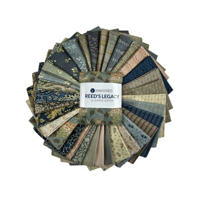 Windham Fabrics Reeds Legacy Fat Quarters Multi 33pcs