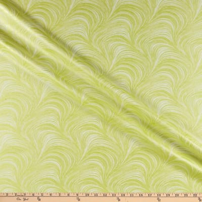 Benartex Pearlescent Wave Texture, Pearlescent Wave Texture Lime