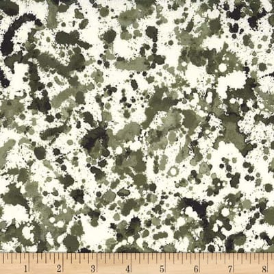 Michael Miller Strata Ink Blots Camouflage
