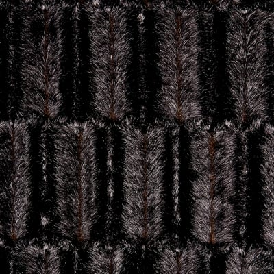 Shannon Luxe Faux Fur Embossed Mink Chocolate
