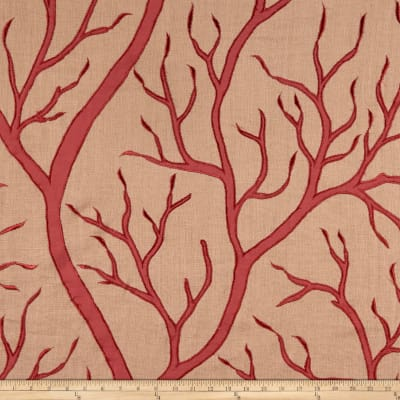 Beacon Hill Staghorn Basketweave Coral Coral