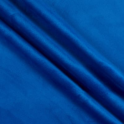 Shannon Minky Solid Cuddle 3 Extra Wide Royal