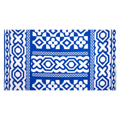 Shawn Pahwa African Print Sibahle Blue/White