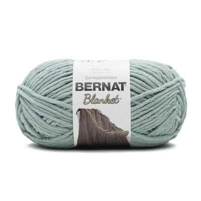 Bernat Blanket Yarn (300g/10.5 oz), Misty Green