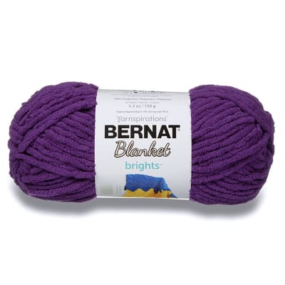 Bernat Blanket Brights Yarn (150g/5.3 oz), Pow Purple