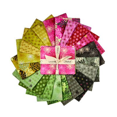 Stoffabric Denmark Blooming Garden Assorted Fat Quarters 20pc
