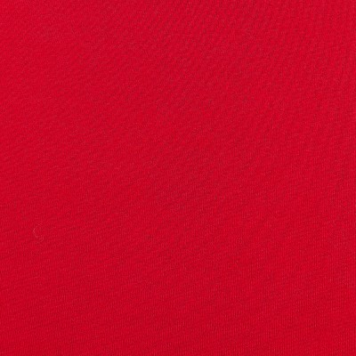 Double Brushed Poly Jersey Knit Red