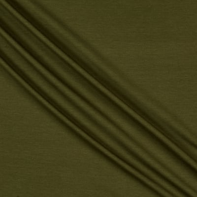 Telio Softique Rayon Spandex Jersey Knit Olive