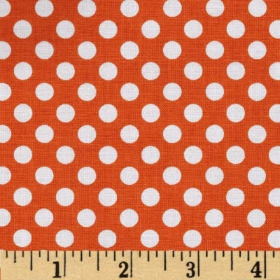 Riley Blake Dots Small Orange