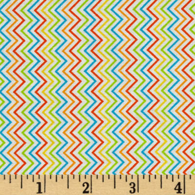 Timeless Treasures Mini Chevron Beige