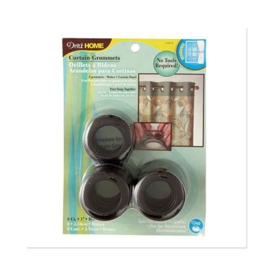 "Curtain Grommets 1"" Bronze"