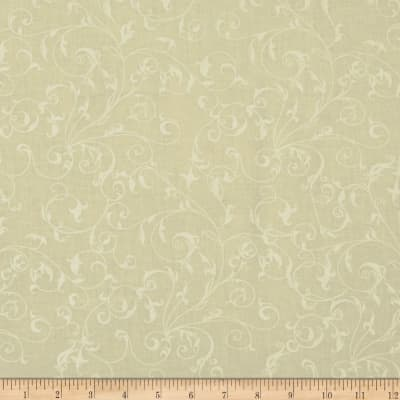 "110"" Wide Quilt Backing Filigree Ivory"