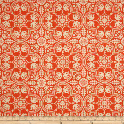 Joel Dewberry Notting Hill Historic Tile Tangerine