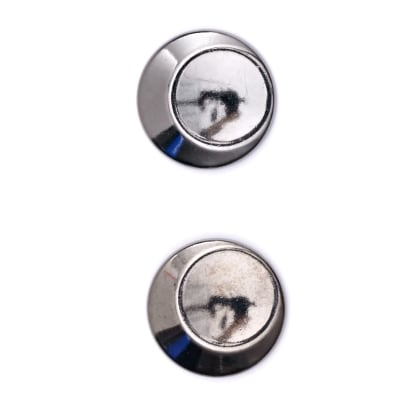 "Fashion Button 7/8"" Lunar Graphite"