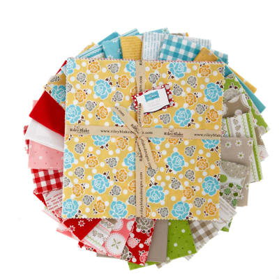 Riley Blake Polka Dot Stitches 10'' Stackers