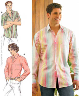 Kwik Sew Double Yoke Shirt Pattern