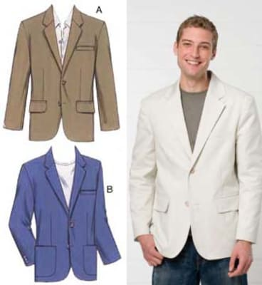Kwik Sew Men's Blazers Pattern