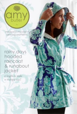 Amy Butler ''Rainy Days'' Raincoat & Jacket Pattern