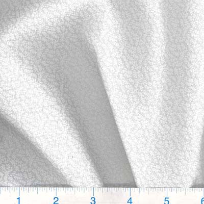 "108"" Quilt Backing Tone on Tone Ferns White/White"