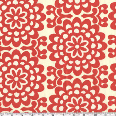 Amy Butler Lotus Wall Flower Cherry