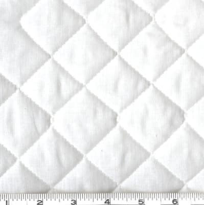 Double-Sided Quilted Broadcloth White