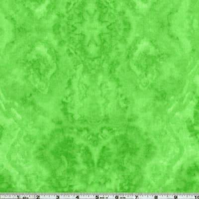 Flannel Tie Dye Lime Green