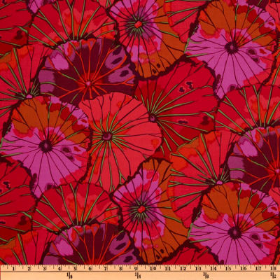 Kaffe Fassett Lotus Leaf Wine