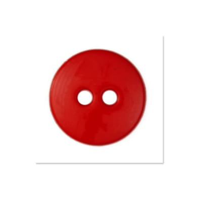 Colors by Favorite Findings 5/8'' Buttons 20/Pack Red