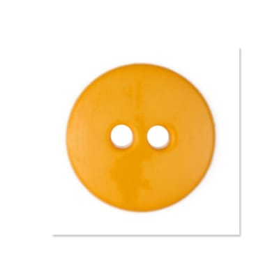 Colors by Favorite Findings 5/8'' Buttons 20/Pack Yellow