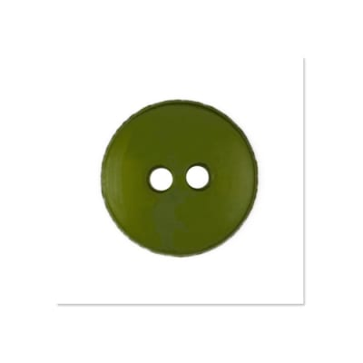 Colors by Favorite Findings 5/8'' Buttons 20/Pack Fern