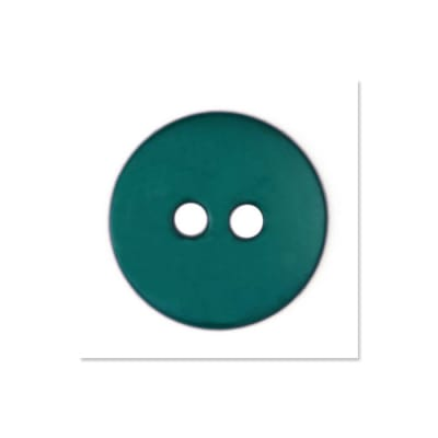 Colors by Favorite Findings 5/8'' Buttons 20/Pack Teal