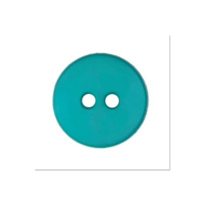 Colors by Favorite Findings 5/8'' Buttons 20/Pack Turquoise