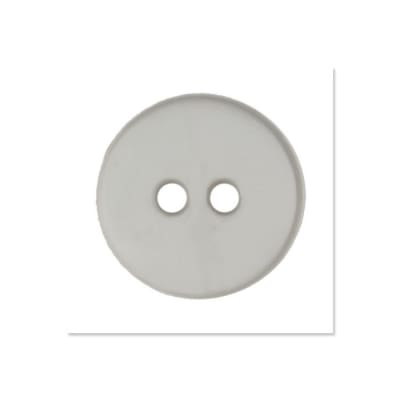 Colors by Favorite Findings 5/8'' Buttons 20/Pack Grey