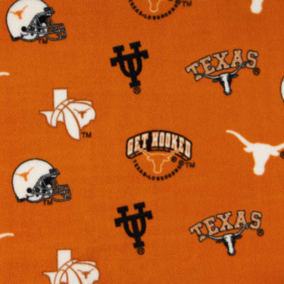 Collegiate Fleece University of Texas Tossed Orange/Black