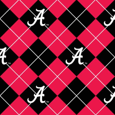 Collegiate Fleece University of Alabama Argyle