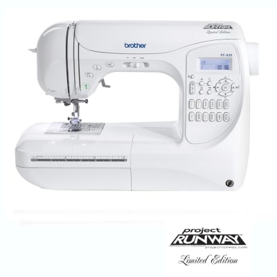Brother PC-420 PRW Limited Edition Project Runway Sewing Machine