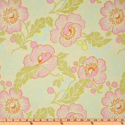 Amy Butler Midwest Modern II Fresh Poppies Ivory