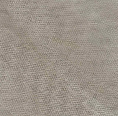 "108"" Apparel Grade Tulle Glimmer Ivory"