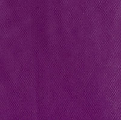 108'' Apparel Grade Tulle Purple