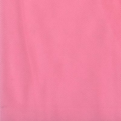 108'' Apparel Grade Tulle Paris Pink