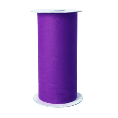 Tulle Spool Deep Purple