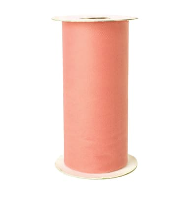 Tulle Spool Peach