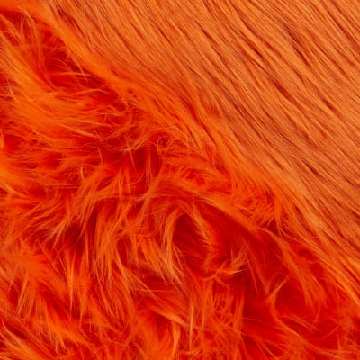 Shannon Faux Fur Luxury Shag Orange