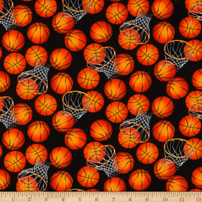 Basketballs Black/Orange