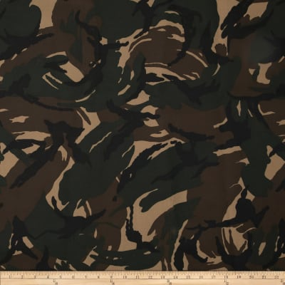 Heavy Duty Nylon Canvas Camo