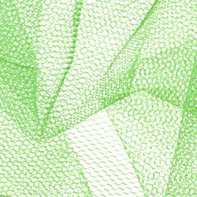 Nylon Net Lime Green