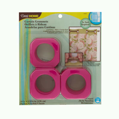 "Curtain Grommets Square 1 9/16"" Fuchsia"
