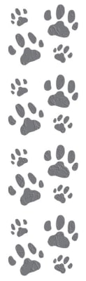 Mrs. Grossman's Stickers Cat Paws Pack