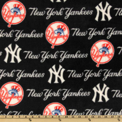 MLB Fleece New York Yankees Blue/Red/White