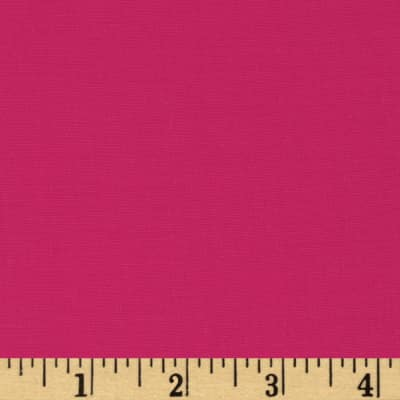 Cotton Blend Broadcloth Fuchsia